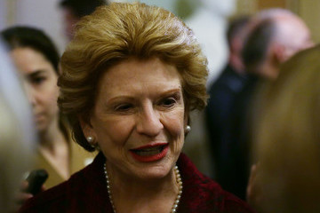 Debbie Stabenow Senate Democrats Elect Leaders For Next Session Of Congress