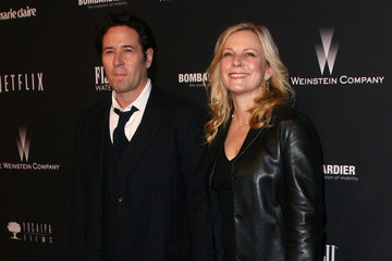 Debbon Ayer Rob Morrow Arrivals at the Weinstein's Golden Globes Afterparty