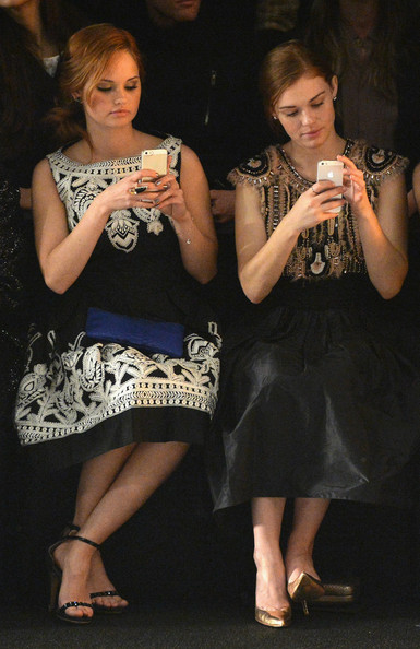 Front Row at the Naeem Khan Show