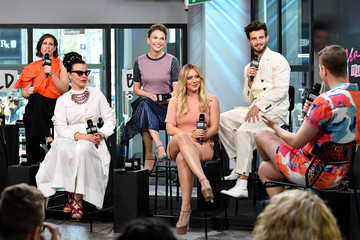 Debi Mazar Build Presents Sutton Foster, Hilary Duff, Debi Mazar, Miriam Shor, Molly Bernard, Nico Tortorella & Peter Hermann Discussing 'Younger'