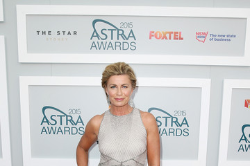 Deborah Hutton Arrivals at the ASTRA Awards