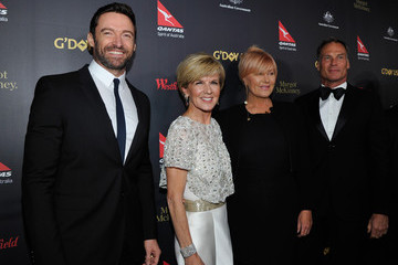 Deborra-Lee Furness G'Day USA 2016 Black Tie Gala - Red Carpet