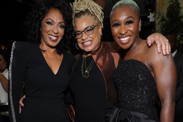 """Debra Martin Chase Cynthia Erivo Premiere Of Focus Features' """"Harriet"""" - After Party"""