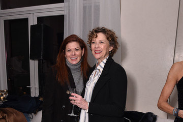 Debra Messing FIJI Water With The Cinema Society Host A Special Screening Of 'Captain Marvel'