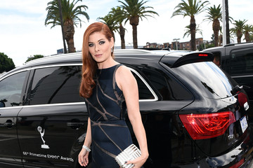 Debra Messing Audi Arrivals at the 66th Primetime Emmy Awards
