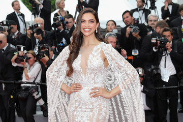 Deepika Padukone 'Sorry Angel (Plaire, Aimer Et Courir Vite)' Red Carpet Arrivals - The 71st Annual Cannes Film Festival