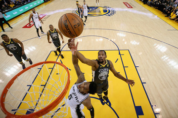 Dejounte Murray San Antonio Spurs v Golden State Warriors - Game Two