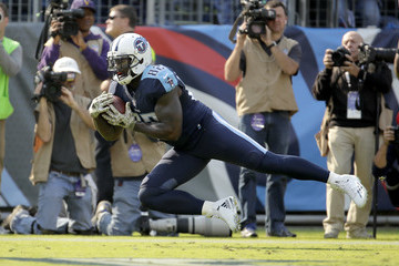 Delanie Walker Green Bay Packers v Tennessee Titans