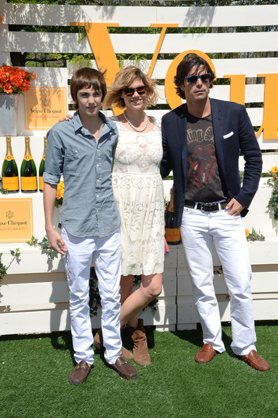 The Seventh Annual Veuve Clicquot Polo Classic - Red Carpet Arrivals [event,recreation,lawn,red carpet arrivals,nacho figueras,hilario figueras,delfina blaquier,jersey city city,liberty state park,veuve clicquot polo classic,seventh]