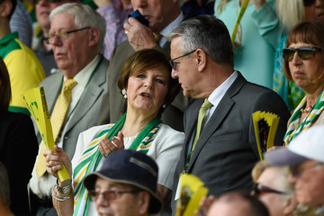 Delia Smith Norwich City v Manchester United - Premier League