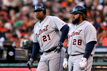 Delmon Young World Series - Detroit Tigers v San Francisco Giants - Game Two