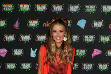 Delta Goodrem Nickelodeon Slimefest 2016 - Melbourne: Media Wall