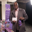 Demarcus Ware Crown Royal Packs Bags for Troops at The Rolling Stone Party