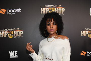 Demetria McKinney 'Growing Up Hip Hop Atlanta' Season 2 Premiere Party