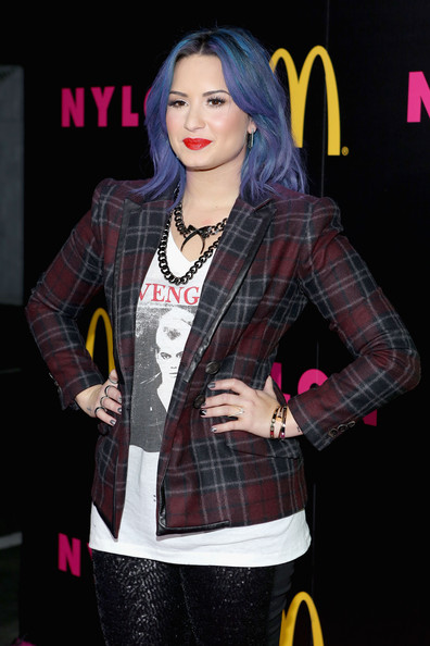 Demi Lovato - Demi Lovato Hosts the NYLON Issue Party