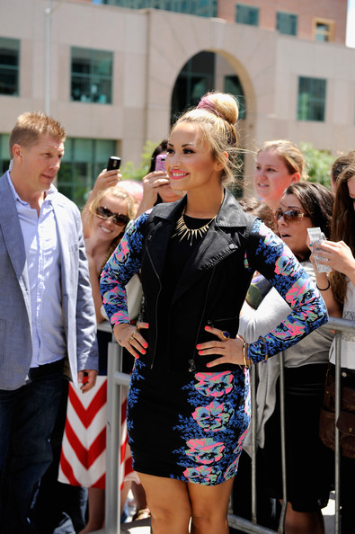 "Demi Lovato - ""The X Factor"" Season 2 Auditions - Providence, RI"