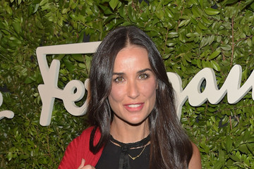 Demi Moore Salvatore Ferragamo Celebrates 100 Years in Hollywood with the Newly Unveiled Rodeo Drive Flagship