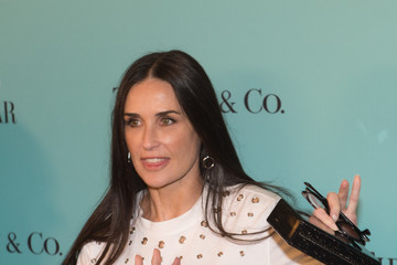 Demi Moore Harper's BAZAAR 150th Anniversary Event Presented With Tiffany & Co at the Rainbow Room - Arrivals