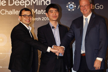 Demis Hassabis Professional 'Go' Player Lee Se-dol Set to Play Google's AlphaGo