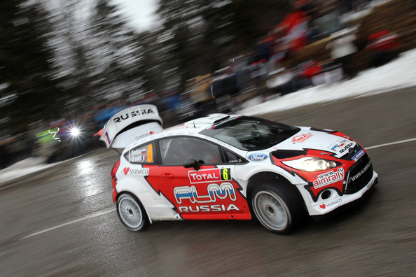 Evgeny Novikov and Denis Giraudet - FIA World Rally Championship Monte-Carlo - Day Three