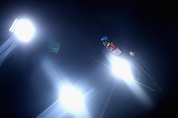 Denis Kornilov Ski Jumping - Winter Olympics Day 7