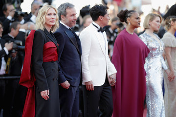 Denis Villeneuve Closing Ceremony And 'The Man Who Killed Don Quixote' Red Carpet Arrivals - The 71st Annual Cannes Film Festival