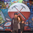 Denise Luiso Roger Waters Hosts a Los Angeles Event for Brazilian Artist Osgemeos' Interpretation of 'The Wall'
