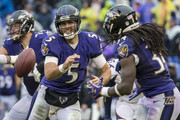 Joe Flacco and Alex Collins Photos Photo