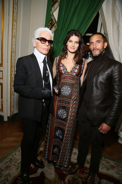 Karl lagerfeld zimbio for Salon mode paris