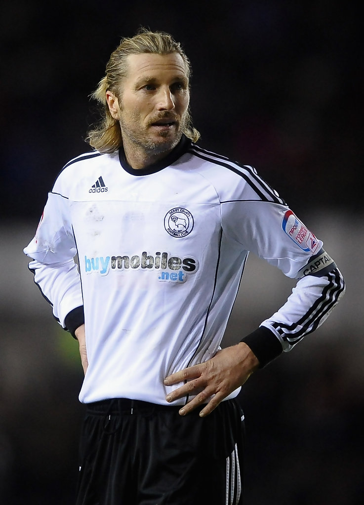 robbie savage photos photos derby county v doncaster