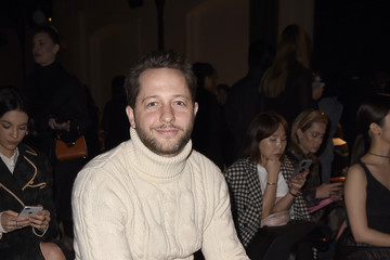 Derek Blasberg Tod's - Front Row - Milan Fashion Week Fall/Winter 2020-2021