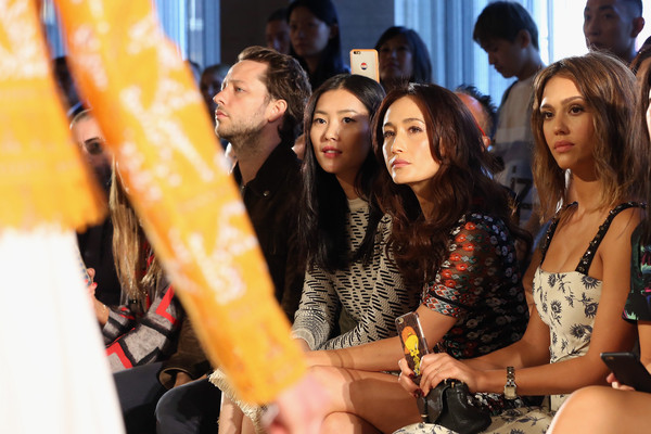 Tory Burch - Front Row - Spring 2016 New York Fashion Week