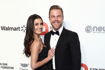 Derek Hough Hayley Erbert IMDb LIVE Presented By M&M'S At The Elton John AIDS Foundation Academy Awards Viewing Party