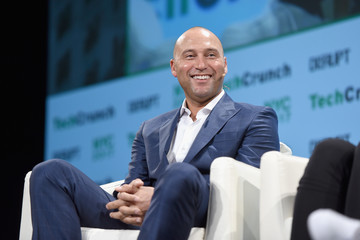Derek Jeter TechCrunch Disrupt NY 2017 - Day 1