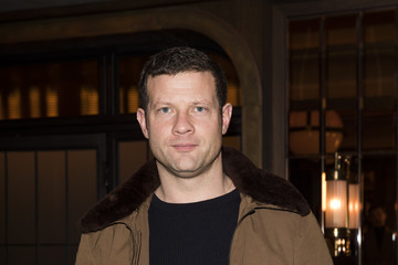 Dermot O'Leary Celebrities & Front Row - Day 3 - LFW Men's January 2017