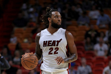 Derrick Williams Brooklyn Nets v Miami Heat