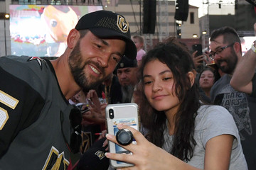 Deryk Engelland Vegas Golden Knights Fan Fest