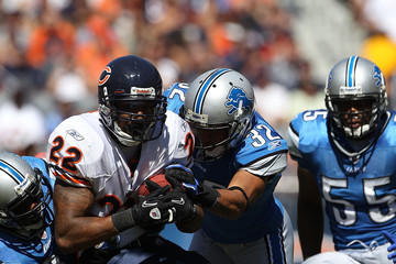 Aaron Berry Detroit Lions v Chicago Bears