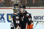 Corey Perry John Gibson Photos Photo