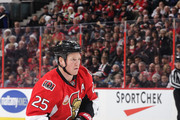 Chris Neil #25 of the Ottawa Senators skates against the Detroit Red Wings at Canadian Tire Centre on December 29, 2016 in Ottawa, Ontario, Canada.  (Photo by Jana Chytilova/Freestyle Photography/Getty Images) *** Local Caption ***