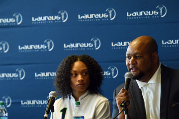 Deuce McAllister Laureus USA SportforGood Weekend