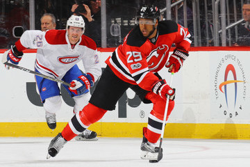 Devante Smith-Pelly Montreal Canadiens v New Jersey Devils