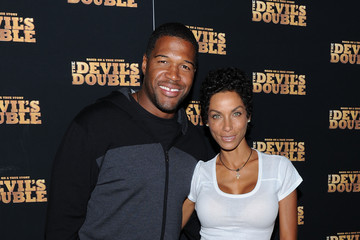 "Michael Strahan Nicole Murphy ""The Devil's Double"" New York Premiere"