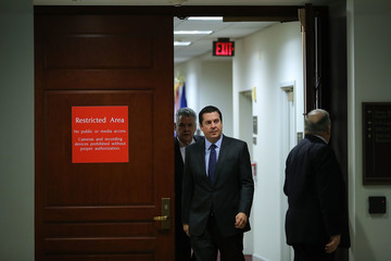 Devin Nunes House Intelligence Committee Holds Closed Briefing on Russia Investigation