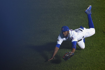 Dexter Fowler NLCS - Los Angeles Dodgers v Chicago Cubs - Game One