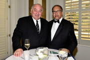 Northwest Territories Premier Bob McLeod (L) and Benjamin Chavis attend the Diamond Empowerment Fund Diamonds Do Good's 2018 Diamonds Do Good award at the Four Seasons Hotel Las Vegas on May 31, 2018 in Las Vegas, Nevada.
