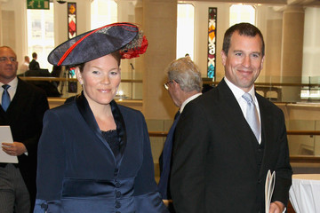 Peter Philips Diamond Jubilee - Queen Elizabeth II Attends Reception At Guildhall