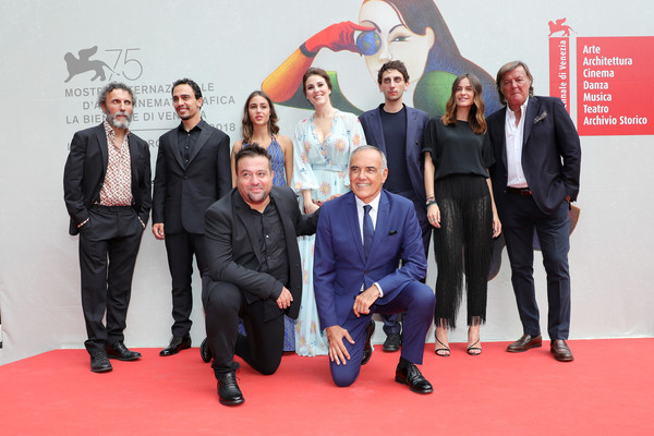 'The Armadillo's Prophecy (La Profezia Dell'Armadillo)' Red Carpet Arrivals - 75th Venice Film Festival