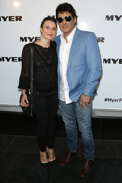 Myer A/W 2015 Season Launch [eyewear,fashion,event,fashion design,suit,outerwear,footwear,premiere,vision care,performance,vince colosimo,diana glenn,myer a,season launch,australia,melbourne,myer mural hall]