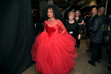 Diana Ross 61st Annual Grammy Awards - Backstage